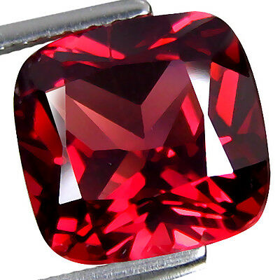 1.47Cts Amezing Natural Almandine Garnet Nice Cushion From Africa LooseGemstone