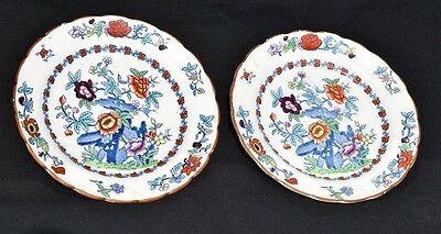 Booths 'The Pompadour' Pair of Side Plates