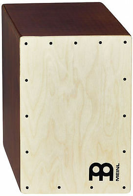 New Meinl Percussion JC50LBNT Birch Compact Jam Cajon Drum with Internal Snares