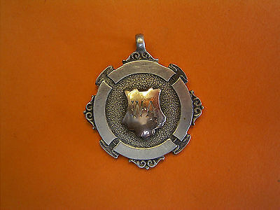 Silver And Gold Scottish Football Fob Medal - 1932 - W. Archibald
