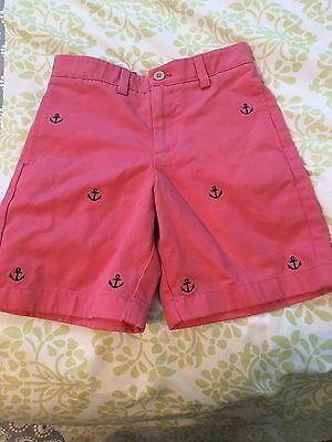 NWT! VINEYARD VINES  Boys Nantucket red Anchor SHORTS Size 5 NEW
