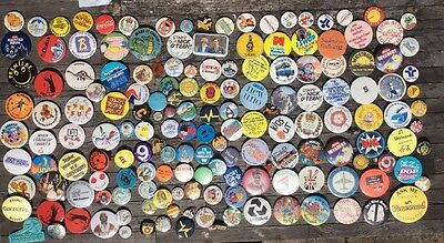Large Job Lot Collection Retro Vintage Pin Badges Assorted Various ( Lot 1 )