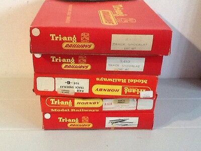 Triang Railways Empty Box Lot X5 Underlay
