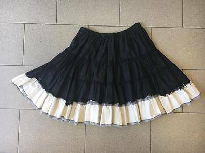 Denny Rose Gonna Skirt Nero Black Mingonna Mini Emergency Donna Tg Unica Usato