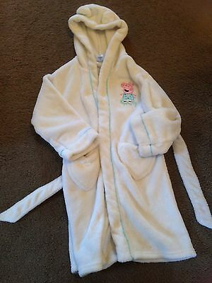 Peppa Pig Dressing Gown Age 4-5 Years