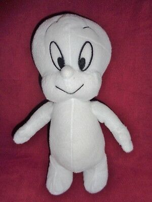 "Casper The Friendly Ghost Plush Toy Network Large Plush 11"" Harvey Ent 2004"