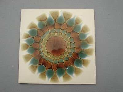 Vintage 6 Inch Pilkington Tile