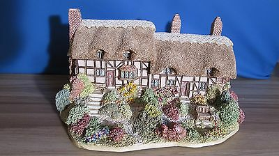 """Collectable Lilliput Lane """"Anne Hathaway's Cottage"""" 1989 English Collection"""