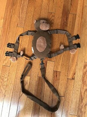 Gold Bug 2-in-1 Harness Buddy Monkey Plush Child Safety Leash System Backpack #3
