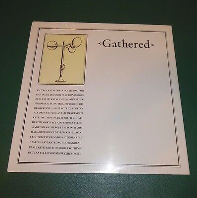 Gathered - Lp 1982 Rare Italy - New Wave -  X Rated Pankow Victrola Death Ss