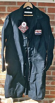 Vintage Topps Uniform Exxon Nomex Smock Coat Mechanic's Coverall
