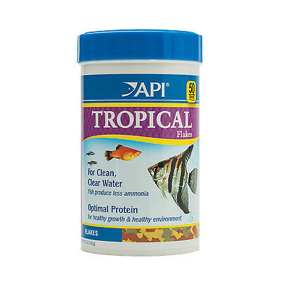 API Tropical Flakes 162g Nutrition Fish Food