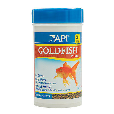 API Goldfish Pellets 116g Nutrition Fish Food Coldwater Aquarium