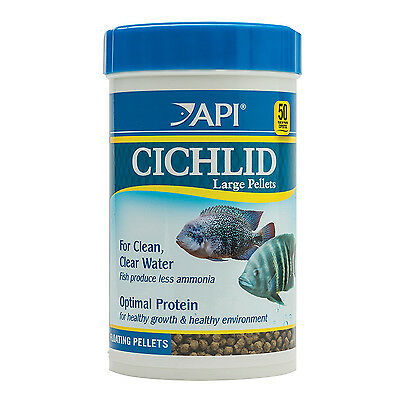 API Cichlid Large Pellets 380g Nutrition Fish Food for All Large Cichlids