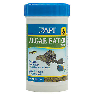 API Algae Eater Wafers 39g Nutrition Fish Food Sinking Algae Wafers