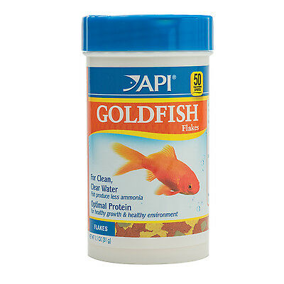 API Goldfish Flakes 31g Nutrition Fish Food Coldwater Aquarium Gold Fish