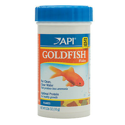 API Goldfish Flakes 10g Nutrition Fish Food Coldwater Aquarium Gold Fish