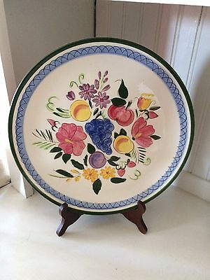 """Stangl Fruit and Flowers 12.5"""" Chop Plate #4030"""