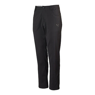 'NEW' 2016 Puma Tech 6 Pocket Golf Trousers - Black - Many Sizes