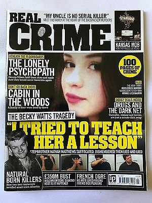 Real Crime Magazine Issue 007 Murder Serial Killers Execution Psychopath Drugs