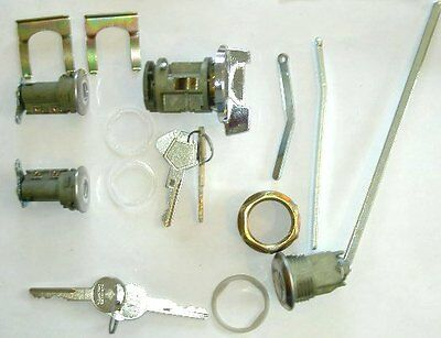 Ignition/Door/trunk Lock Set 1973-85 Charger Volare Mopar LOGO KEY A/B-body