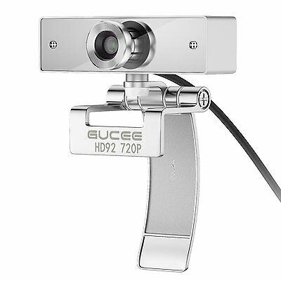 Webcam 720P, GUCEE HD92 Web Camera for Skype with Buil-in HD Microphone 1280 x /