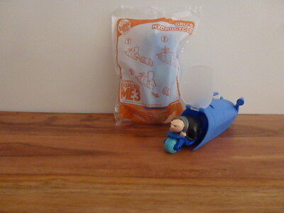 McDonalds Despicable Me 3 Happy Meal Minions toy *** GRU'S HYDROCYCLE ***