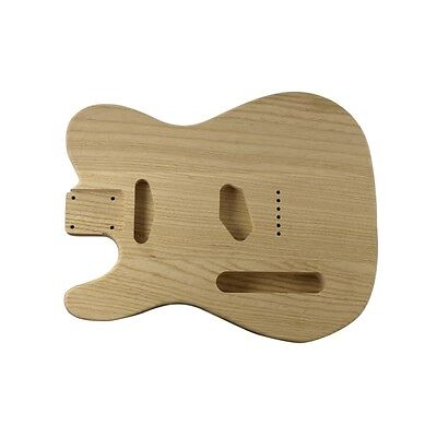 WD Music Tele body swamp ash unfinished-left handed