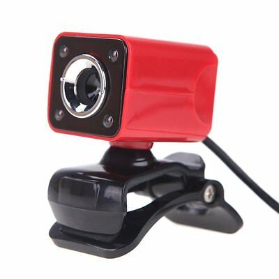 KKmoon USB 2.0 12 Megapixel HD Camera Web Cam with MIC Clip-on Night Vision 360