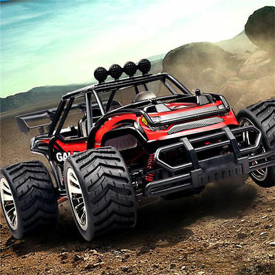 1:16 2.4G RC Desert Truck 4WD High Speed Off Road Racing Car RTR Toy Gift