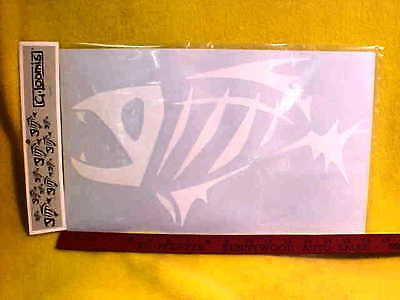 Genuine G.Loomis White fish Boat decal!16X9!!