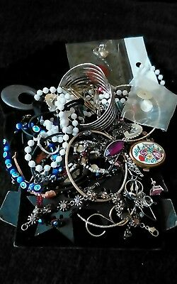 job lot of jewellery for craft / rework