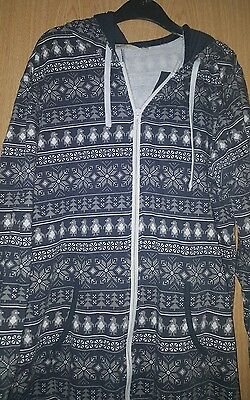 Mens Mantaray all in one pjamas Medium
