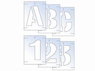 Scan 25mm Letter and Number Stencil Kit