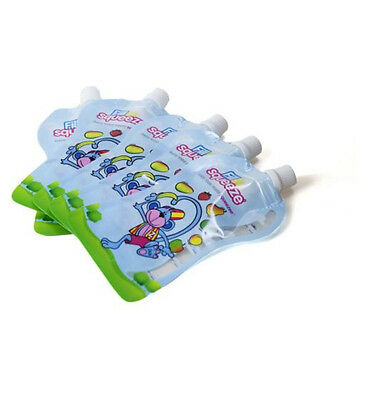 Fill n Squeeze refillable baby food pouches 10x150ml