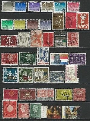 #5981 NETHERLANDS Lot of Used Stamps