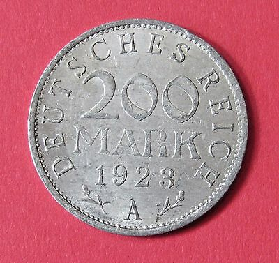 Germany, Weimar Republic 200 Mark, 1923-A - FREE DOMESTIC SHIPPING