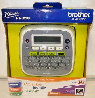 Brother P-Touch Electronic Labeling System PT-D200, Brand New