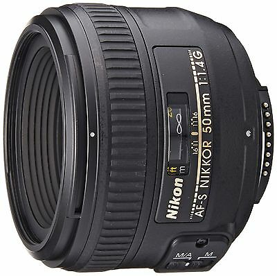 Nikon 50 mm F1.4G AF-S Nikkor Lens - Black Lens Only