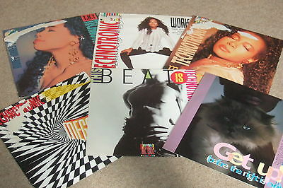 "6 x 12""  Technotronic Vinyl Collection           OLD SKOOL HOUSE CLASSICS!!"