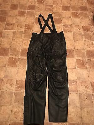 Harley Davidson FXRG Leather Pants- sz 38-mens' - PRICE REDUCED!!!!