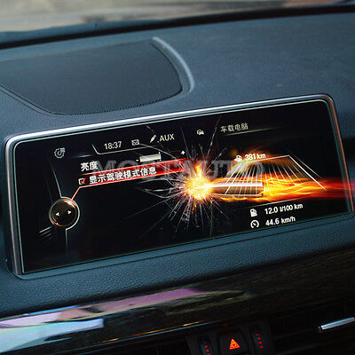 Premium Tempered Glass GPS Navigation Screen Protector For BMW X5 F15  X6  F16