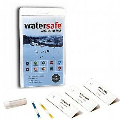 Watersafe Drinking Well Water Test Kit (10 Tests in 1)