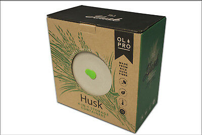 Round Storage Containers - Biodegradable Rice Husk (Pack Of 4) Similar To Bamboo