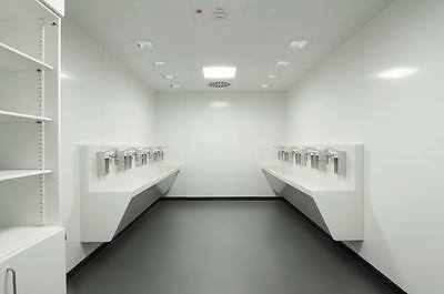 PVC Kitchen and catering hygienic cladding wall sheets 8' x 4' x 1.5mm