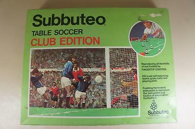 Subbuteo boxed table soccer club edition set ( lot 1 )