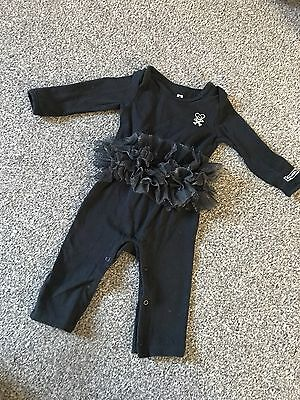 Age 3-6 Months Baby Girl Tutu All In One Rock Chick