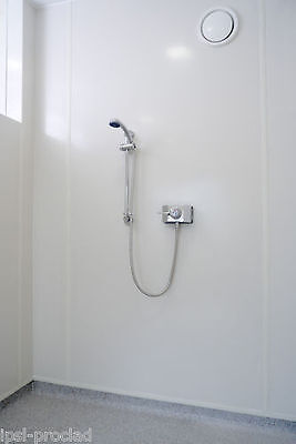 Bathroom and Shower wet wall panels - 8' x 4' x 2mm white gloss PVC