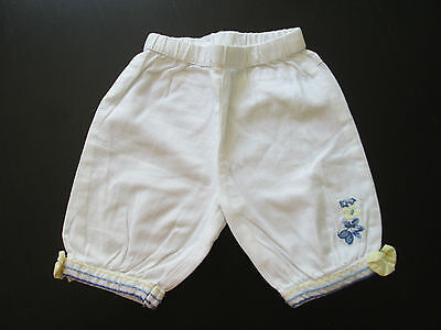 Baby Girl's Disney Baby White Shorts Age 6-9 Months