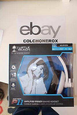 Turtle Beach Ear Force P11 Blancos - Auriculares